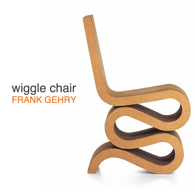 This Is The Frank Gehry Wiggle Chair. Frank O. Gehry Is An Internationally  Acclaimed Architect And Designer. His Wiggle Side Chair Is Part Of The Easy  Edges ...