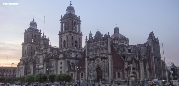 Pocket Hobby - www.pockethobby.com - #HobbyTrip - Na Terra do Chaves - Cidade do México - Catedral Metropolitana .