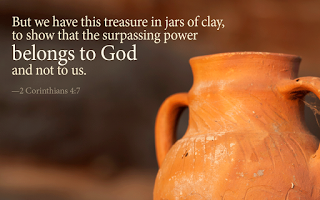 Where band name Jars of Clay comes from - Jar of clay - Corinthians 4-7