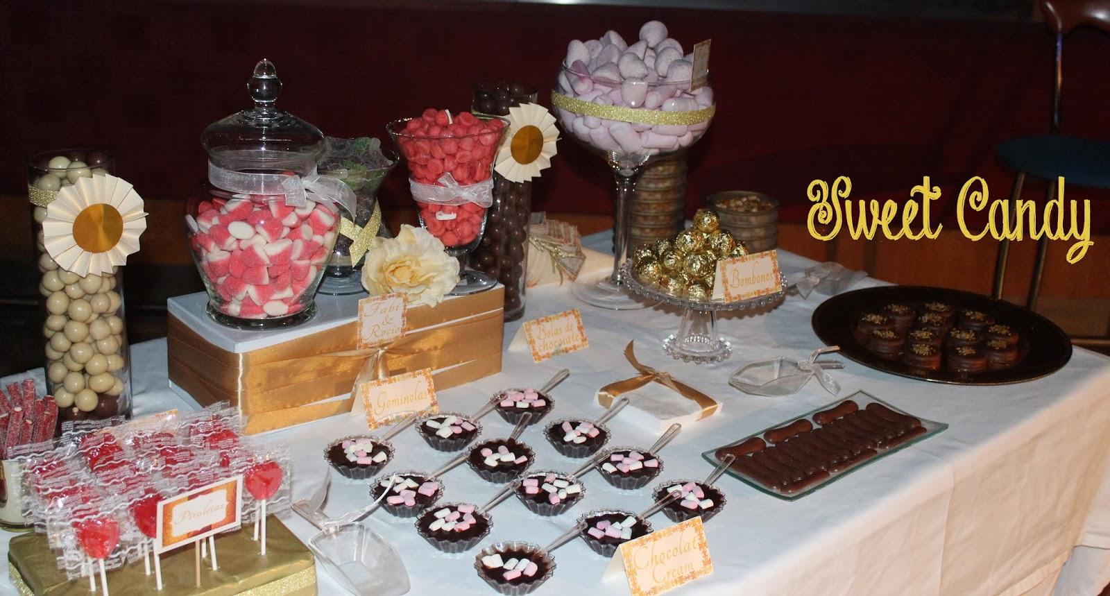 Sweet candy mesa dulce para boda f r for Dulce boda