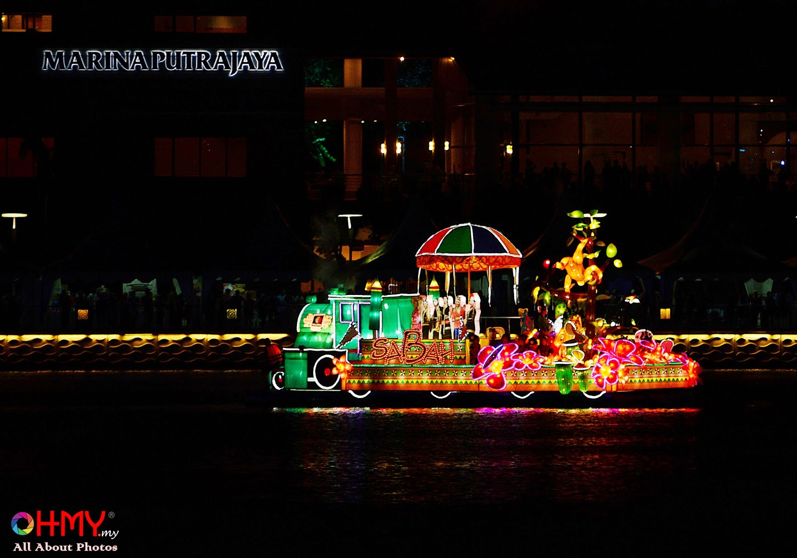Warna Wani Magic Of The Night | Floria Putrajaya 2014