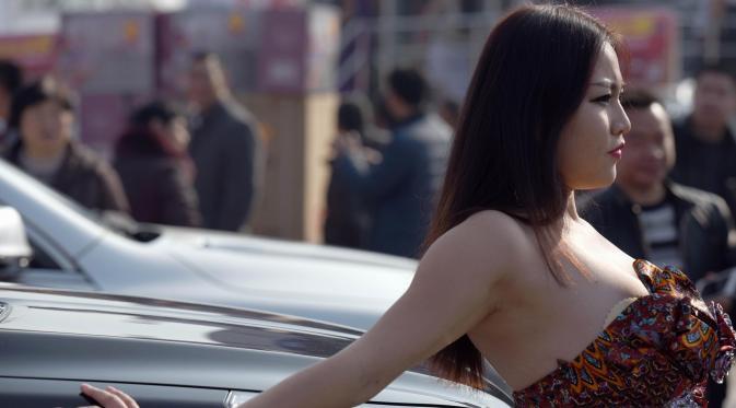 Super Sexy, Gadis Ini Menangkan Kontes Payudara Terindah di Tiongkok
