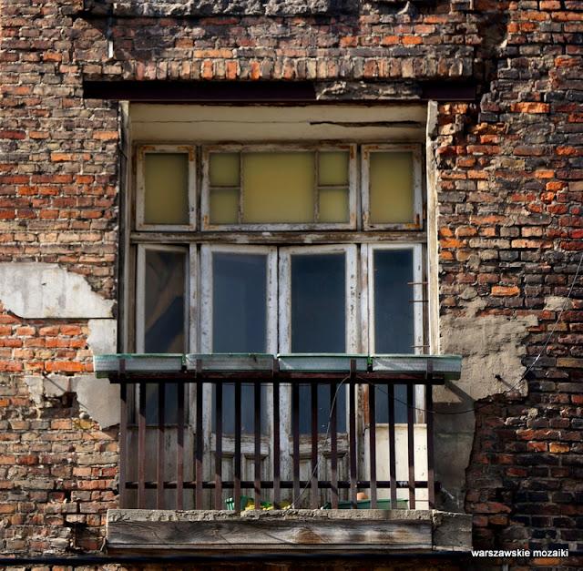 Warszawa Wola ulica kamienica przedwojenna opuszczone Warsaw