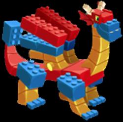 imagen del dragon bloque adulto