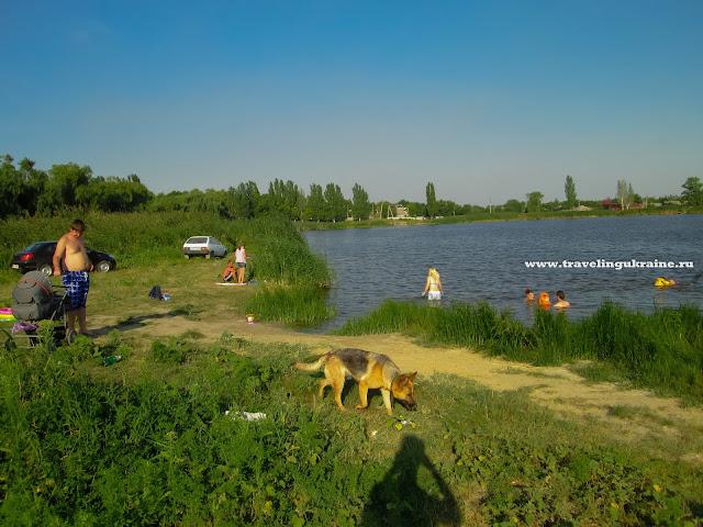 Лиман на Артема, Славянск, лето 2014