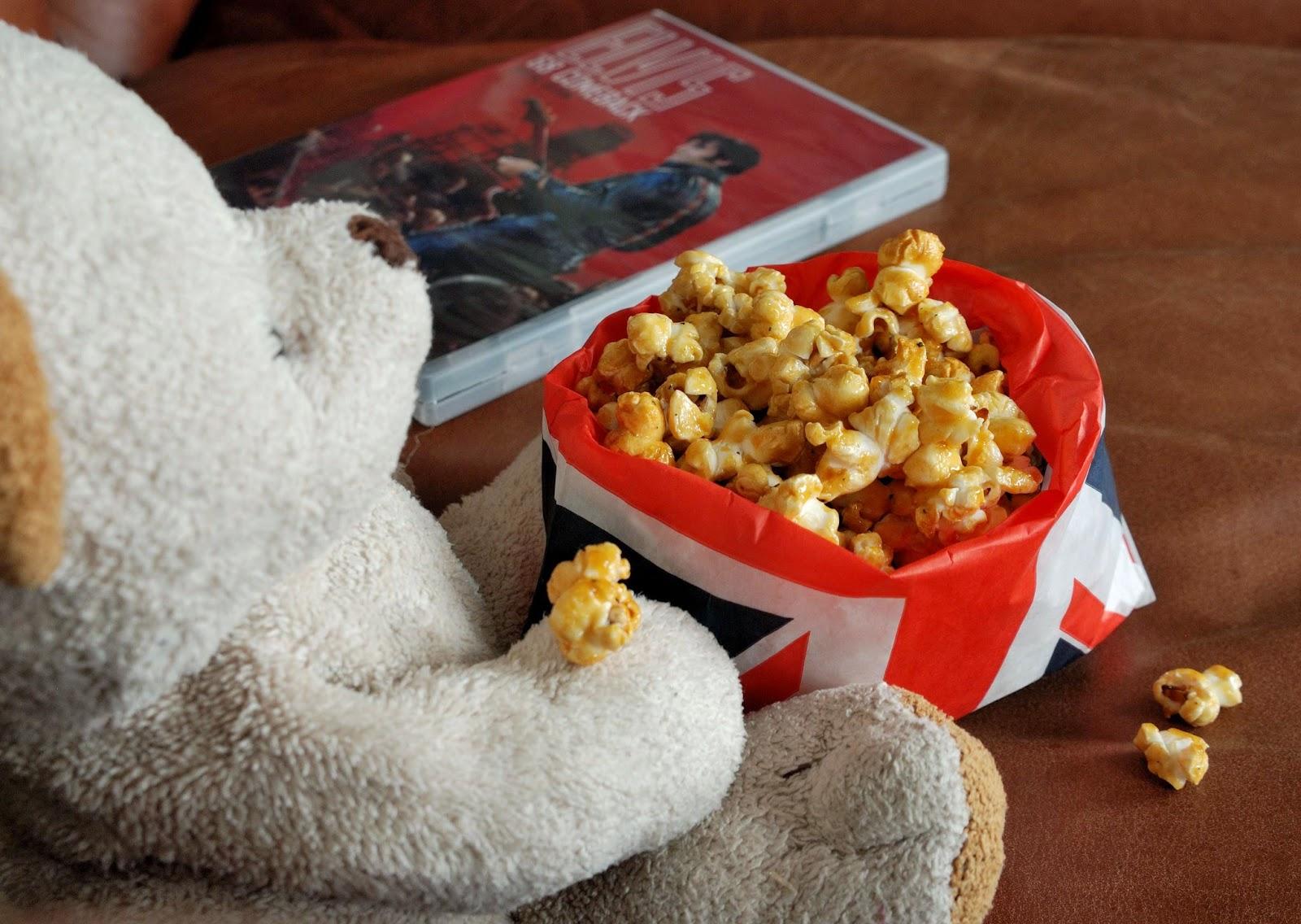 recette de popcorn au caramel