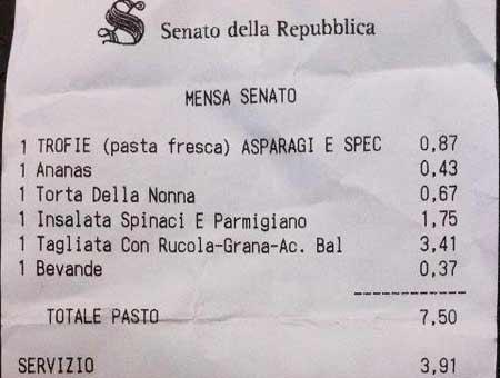 Senato della repubblica il ristorante degli dei for Senato della repubblica