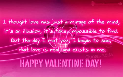 Meaning Happy Valentine's Day Wishes For Girlfriends 2014