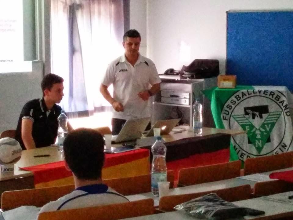 Seminario para entrenadores de Fùtbol Sala en Duisburgo (Alemania)