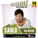 Capa do álbum Saulo – Salvador Fest (2013)