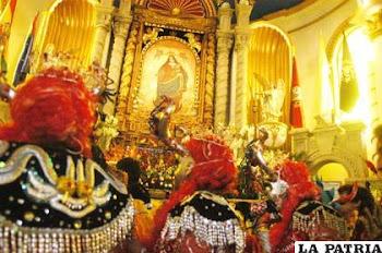 estiman en 300 mil las visitas al Carnaval de Oruro cifra en constante aumento