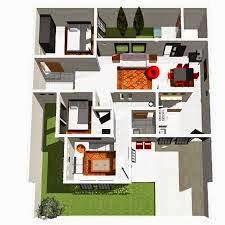 Desain rumah minimalis 3 kamar 2