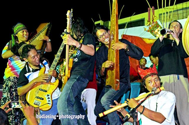Kolaborasi musik etnik dalam Festival Kampong Temenggungan.