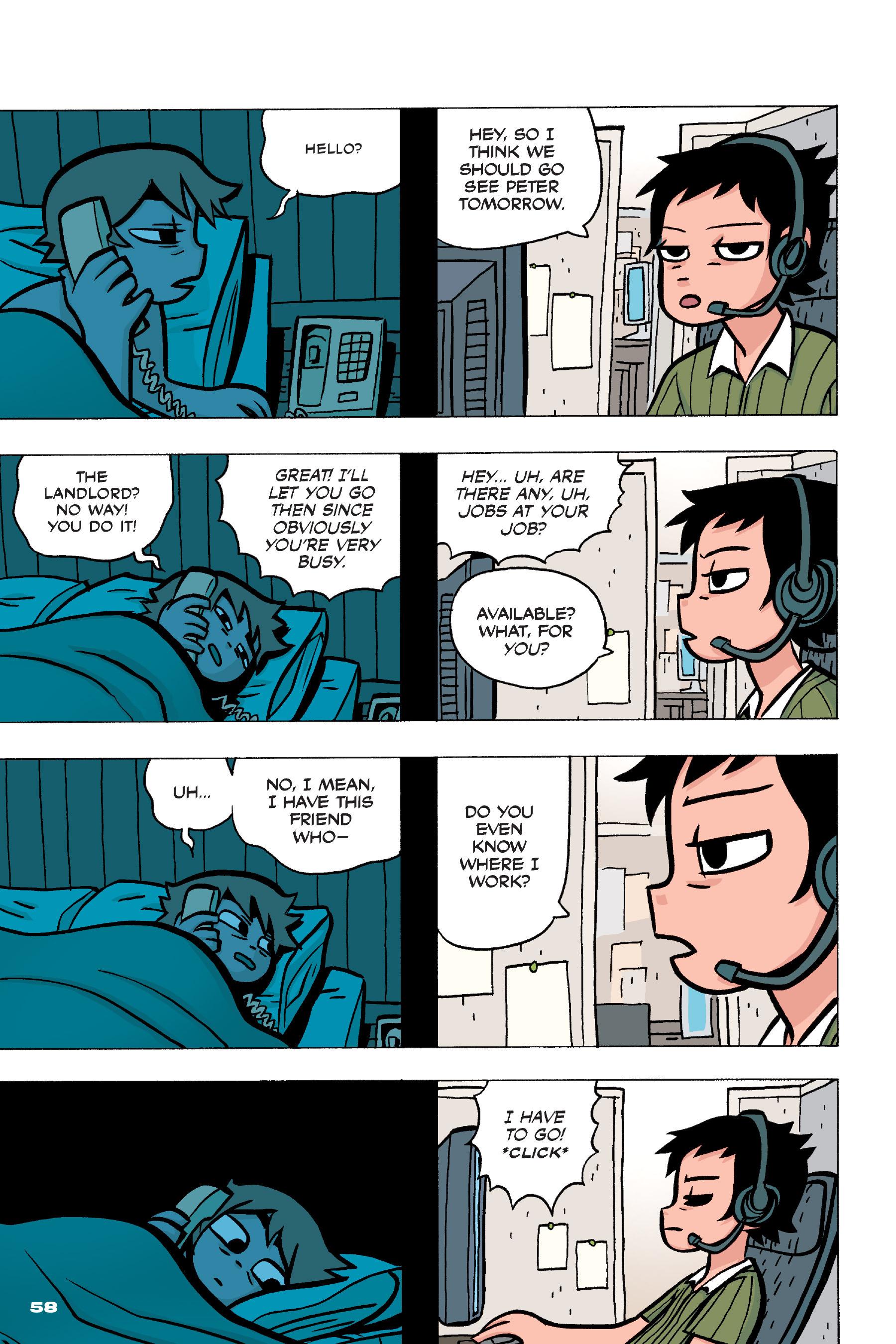 Read online Scott Pilgrim comic -  Issue #4 - 57