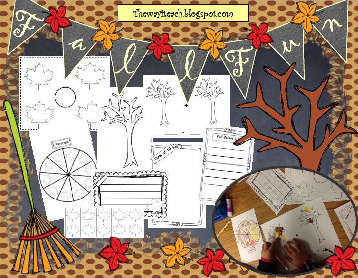 http://www.teacherspayteachers.com/Product/Fall-Poster-Graphing-Probability-Fractions-Sum-of-Tens-Writing-993042