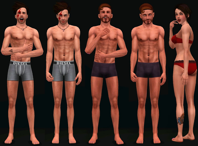 mad sims pose pack by faprod title=