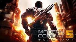 Free Download Modern Combat 5: Blackout v14.0 Apk+ Data Terbaru
