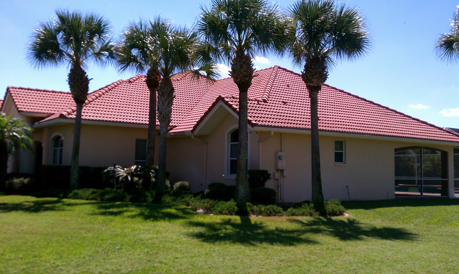 Beacon Roof Exterior Cleaning Melbourne Florida Tile Roof Cleaning