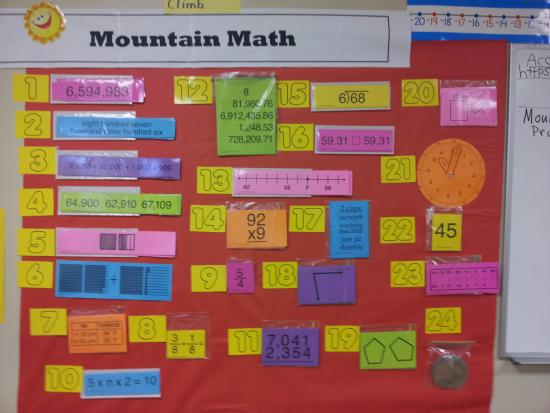 Free Worksheets Mountain Math Worksheet 4th Grade Printable – Math Mountain Worksheets