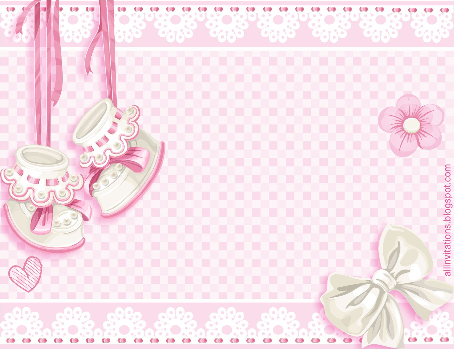 Invitación Baby Shower Zapatitos | All Invitations