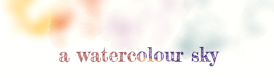 a watercolour sky