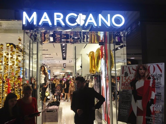 Marciano's 10th Anniversary Party at The Toronto Eaton Centre