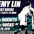 Jeremy Lin, Hornets Bench Beat Bucks, 87 - 82, 11.29.2015 (Vlog)
