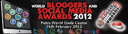 "Nominated as ""Best Travel Blog"""