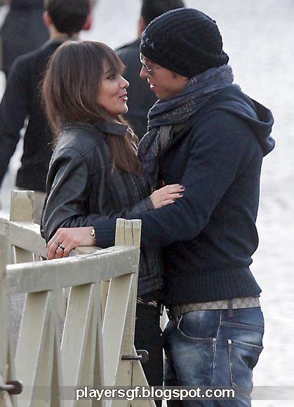 Sergio Ramos and his Girlfriend Lara Alvarez (Photo ...