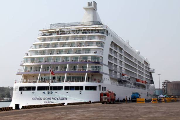 India Backpacker Cruise Ships Calling On Nmpt Panambur