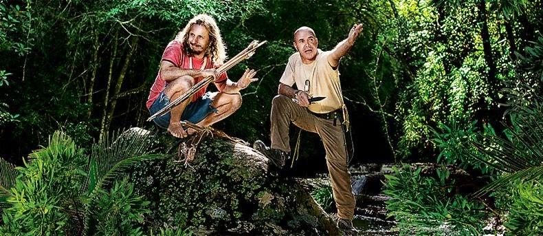 "Desafio Dose Dupla ""Léo e Coronel Leite"" gravam episódio no Vale do Ribeira"