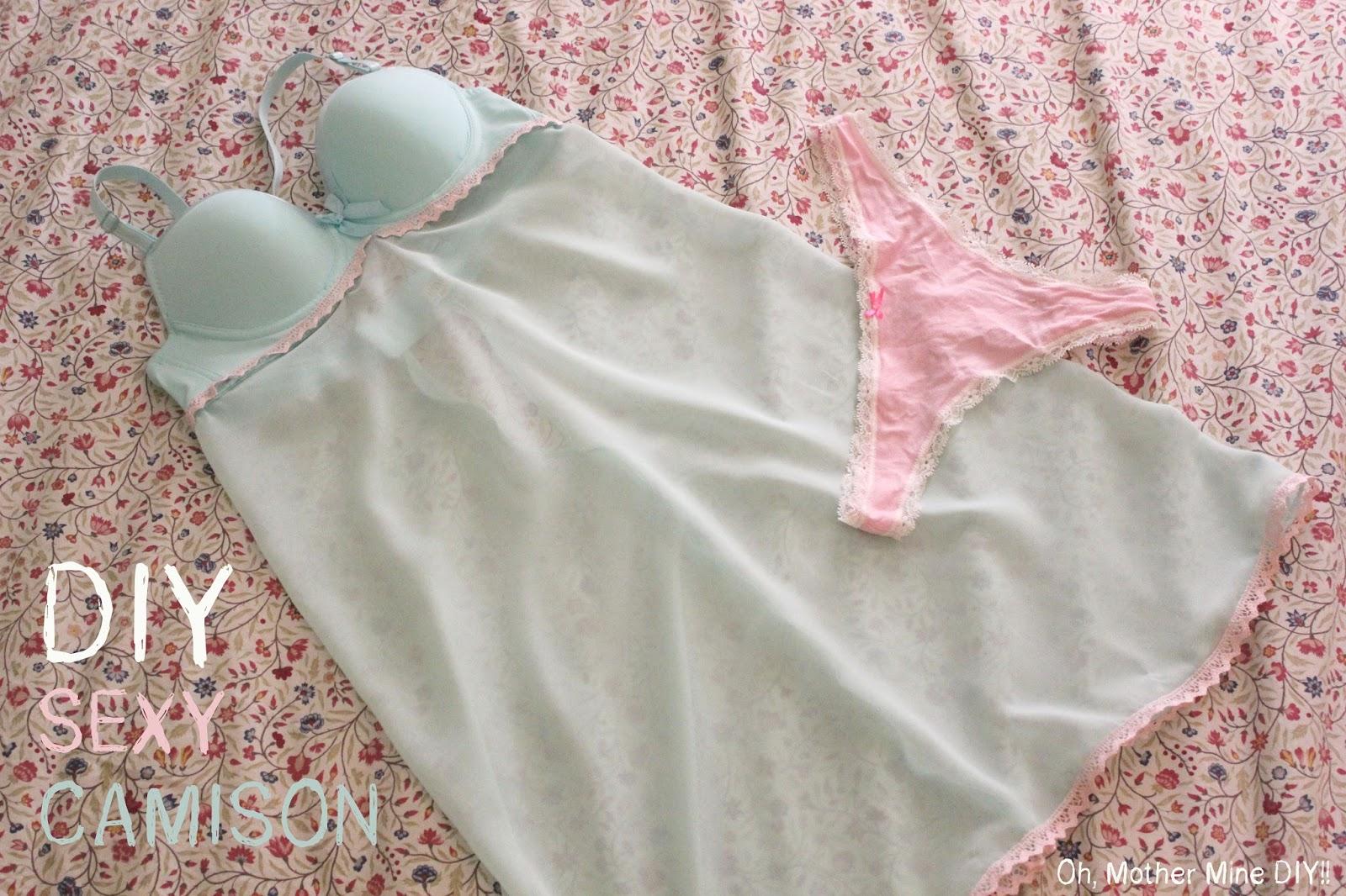 El Rinc N De Vanessa Sexy Diy How To Make Underwear For A Special Night