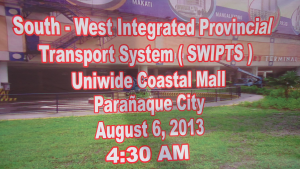 South West Terminal Inauguration