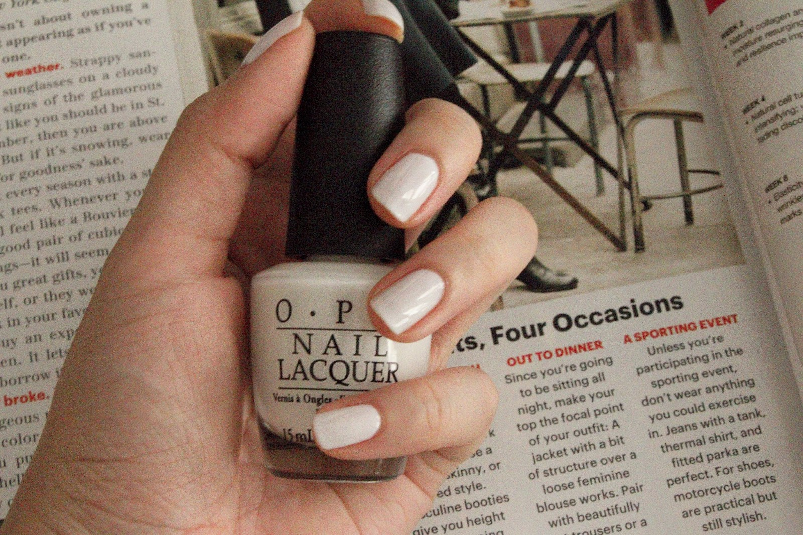 Nails of the Week: Funny Bunny By O.P.I - Pearls Like Me