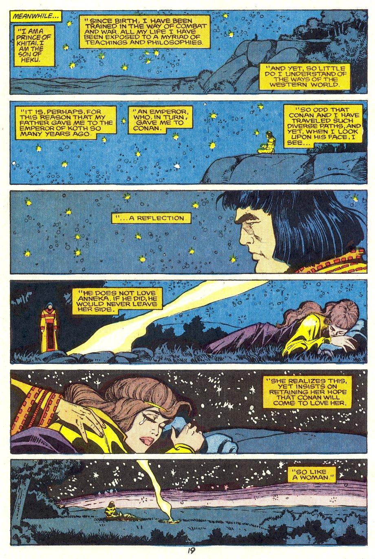 Conan the Barbarian (1970) Issue #204 #216 - English 20