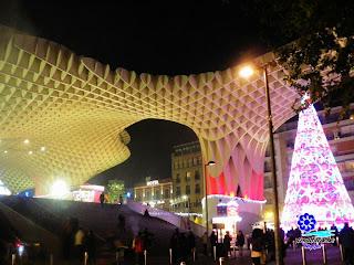 Sevilla - Navidad 2012 - Plaza de la Encarnación  05