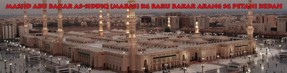 Masjid Abu Bakar As-Siddiq Bakar Arang Sg Petani Kedah