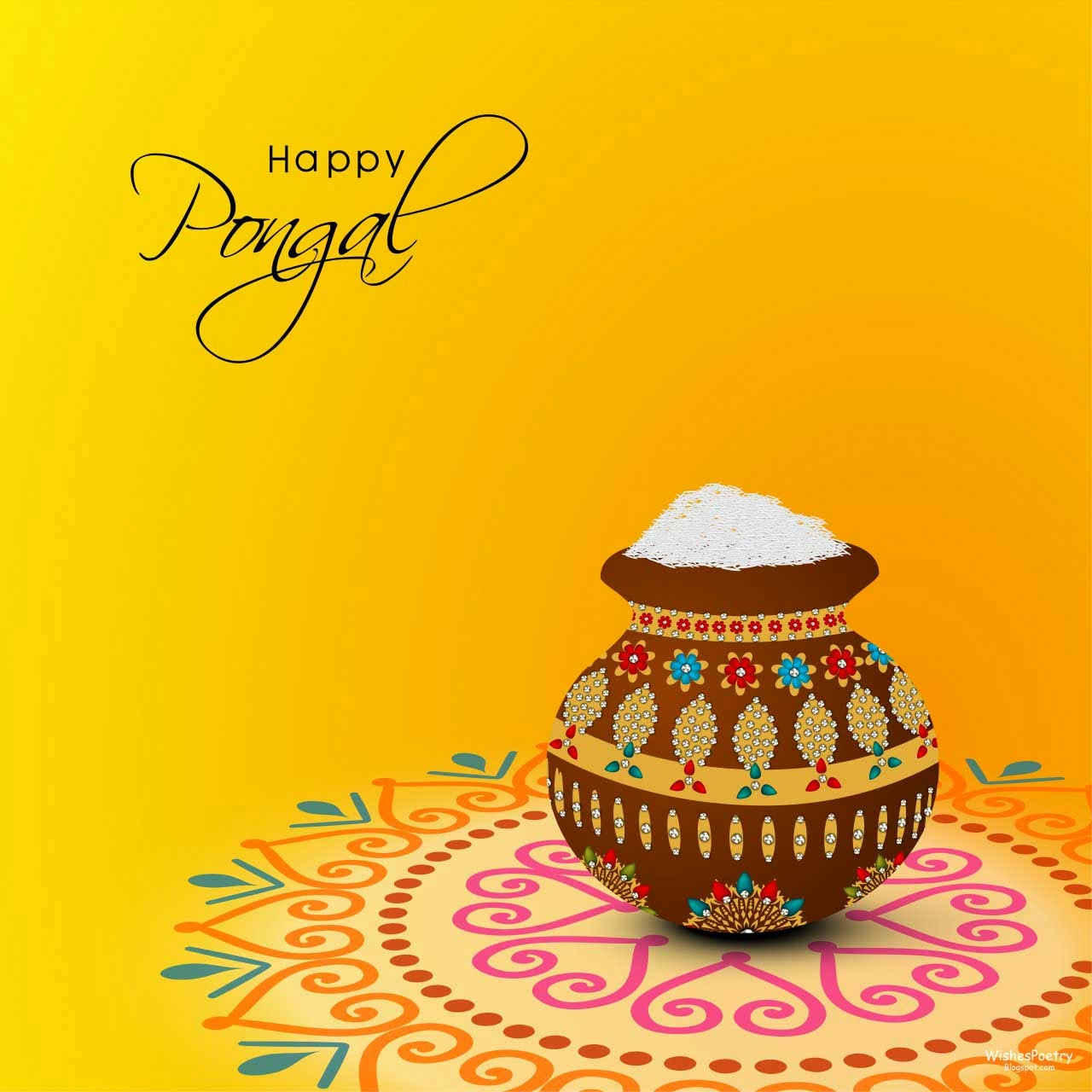 Pongal Greetings SMS-Messages With Images