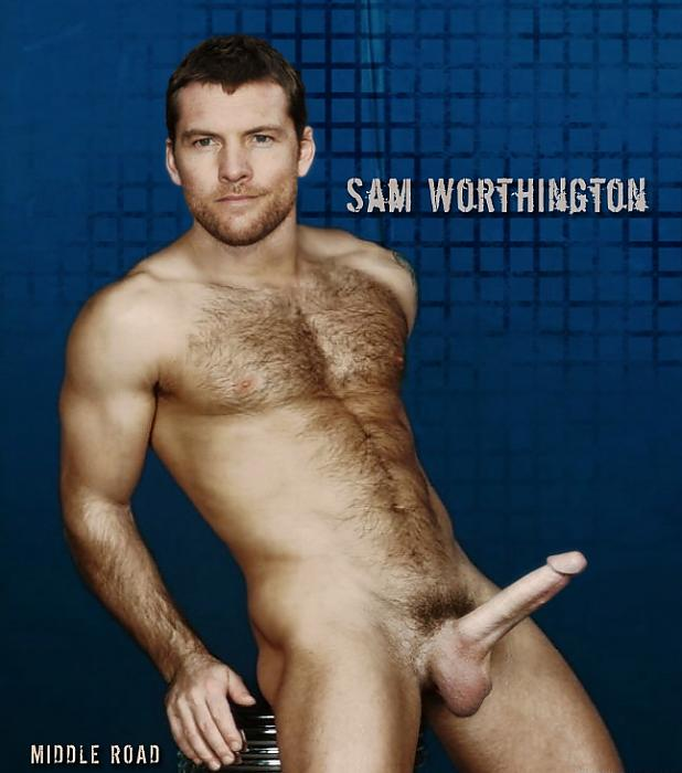 from Kamari sam worthington gay
