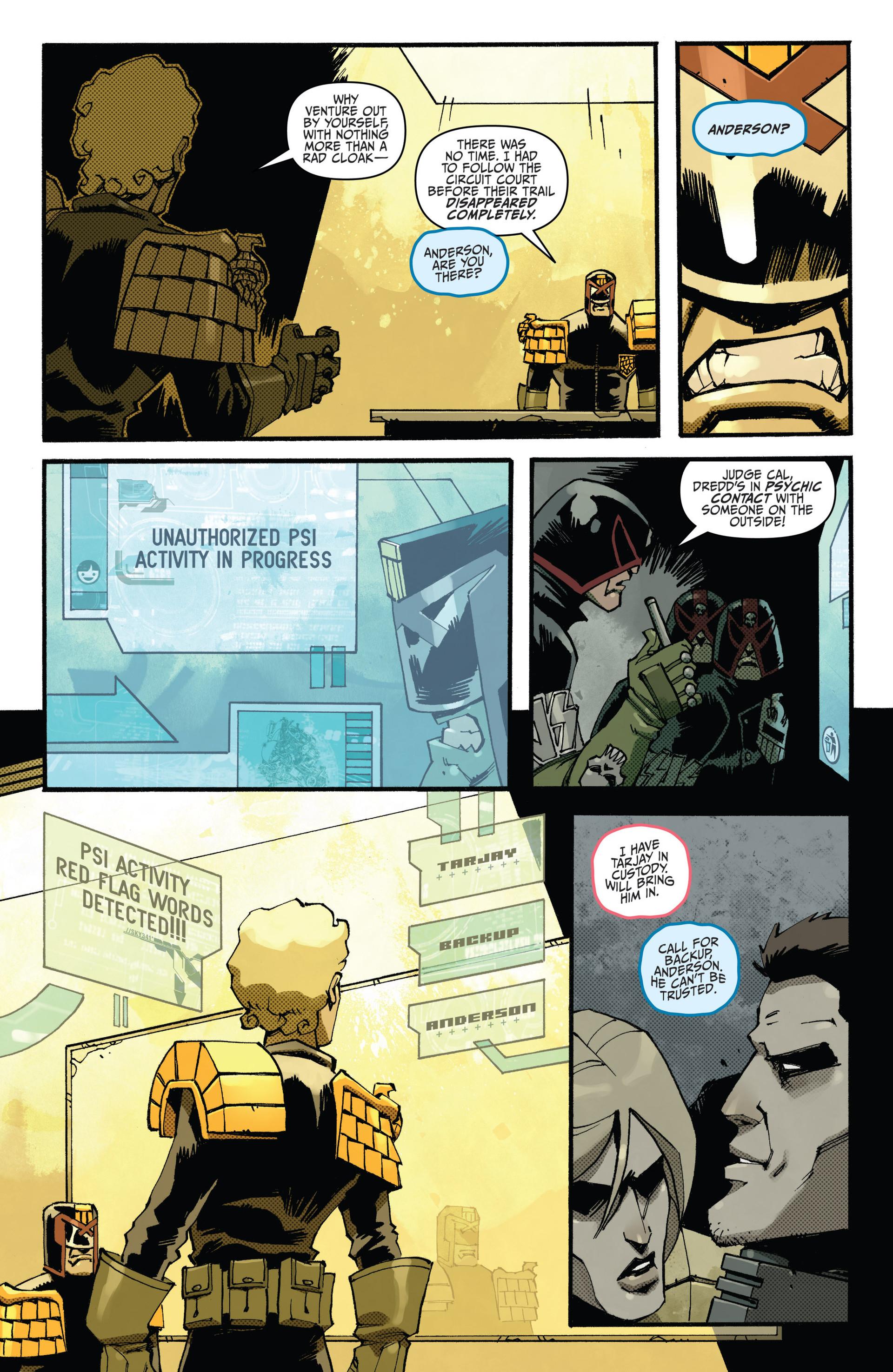 Read online Judge Dredd (2012) comic -  Issue #15 - 11