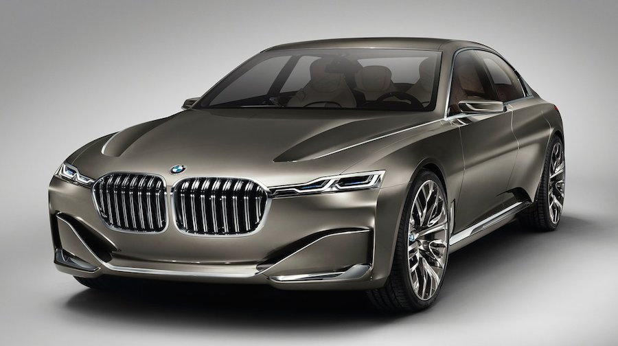 コンセプトカー BMW ビジョン・フューチャー・ラグジュアリー