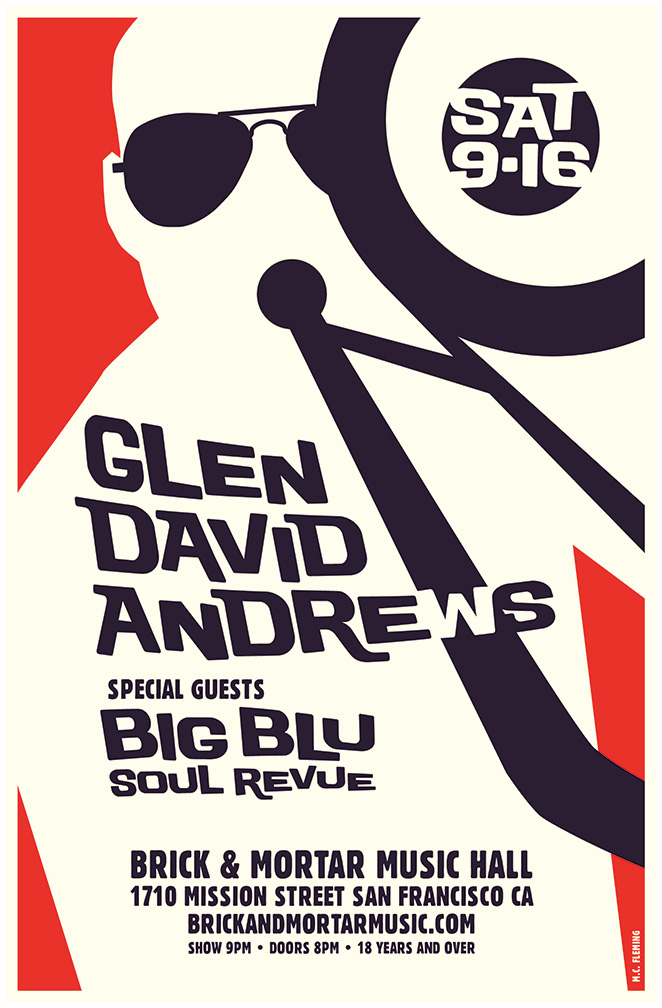 Glen David Andrews plus Big Blu Soul Revue @ Brick & Mortar Music Hall