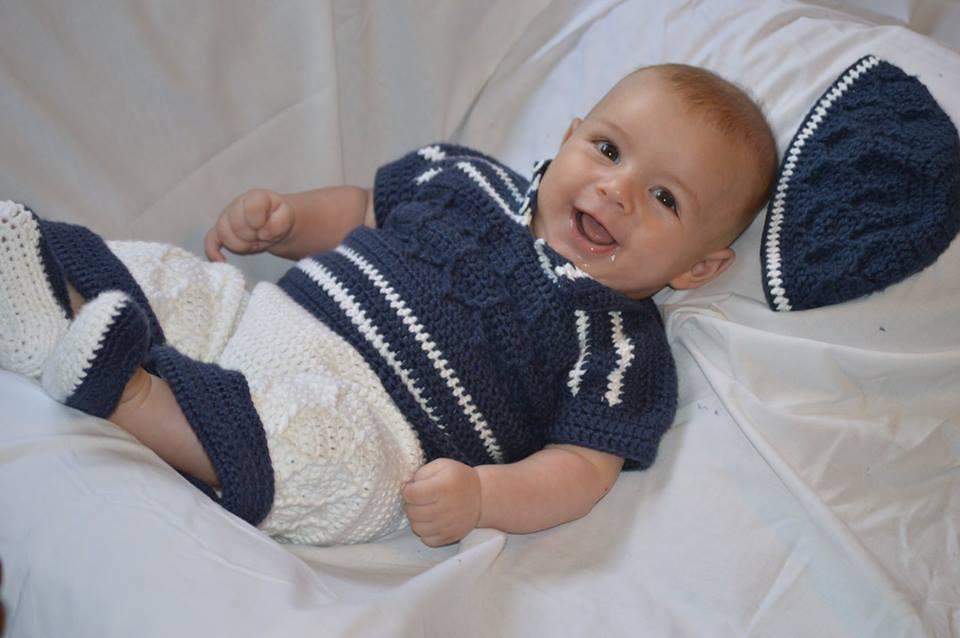 Crochetpedia: My First Baby Model!