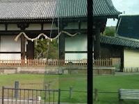 東大寺の裏門的な転害門(てがいもん)国宝