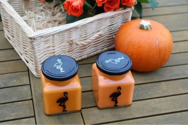 Flamingo Candles Halloween