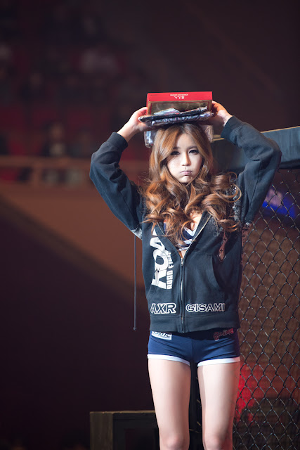 5 Park Si Hyun - Road FC 11 -Very cute asian girl - girlcute4u.blogspot.com
