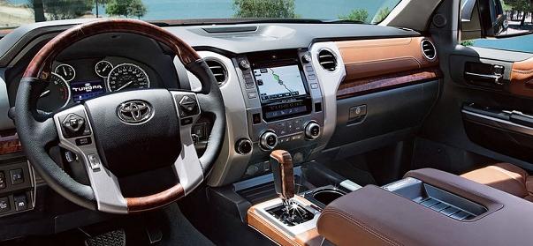 2017 Toyota Sequoia Interior