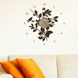 Australia removable wall stickers: Stylish Clock Wall Decals