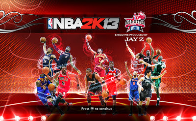NBA 2K13 East All-Stars 2013 Startup Screen Patch