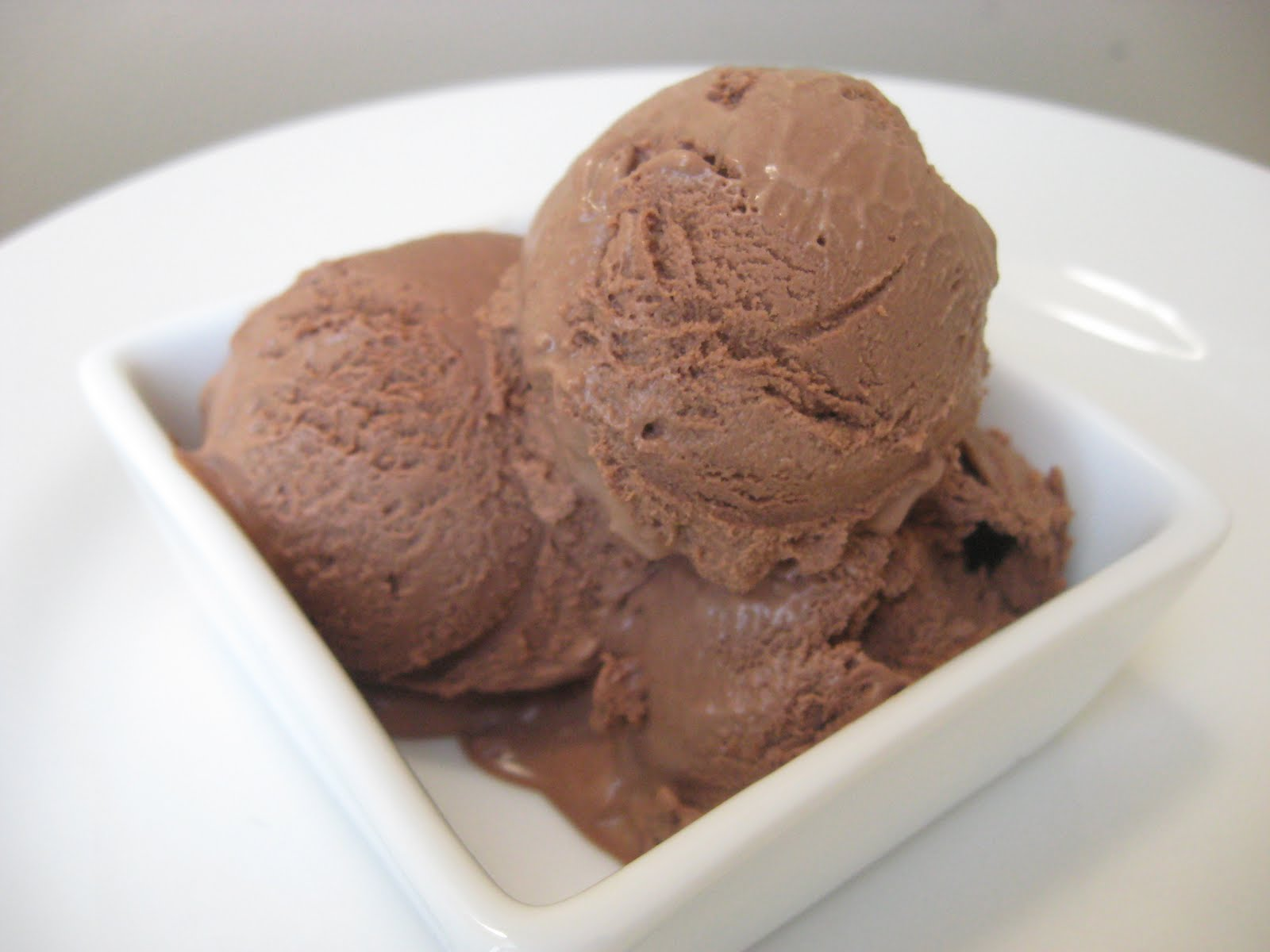 Morsels and Musings: dark chocolate ice cream